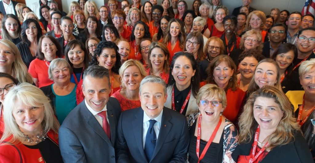 Minister Champagne and Canadian Women business owners
