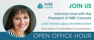 WBE Canada Open Office Hour