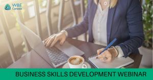 Certified WBE Business Skills Development Training