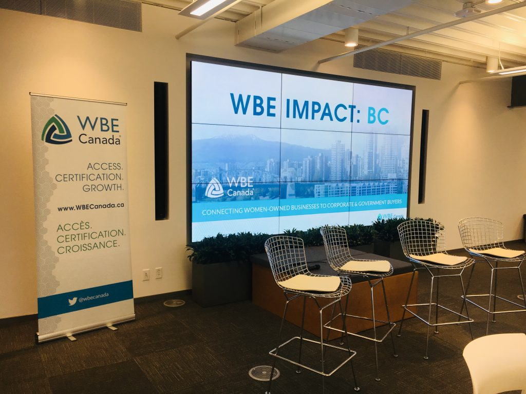 WBE Canada Hosted Its First WBE Impact Event in Vancouver