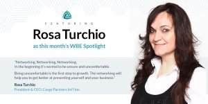 Rosa Turchio Cargo Partners Intl Inc.