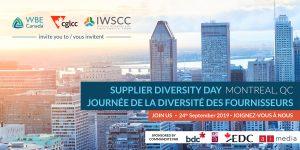 Supplier Diversity Day Montreal 2019 header