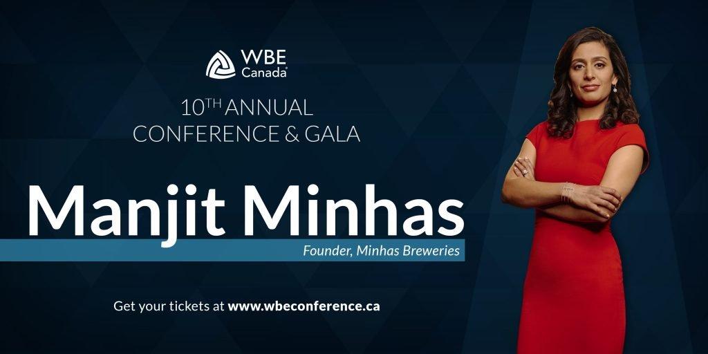 Manjit Minhas WBE Conference 2019