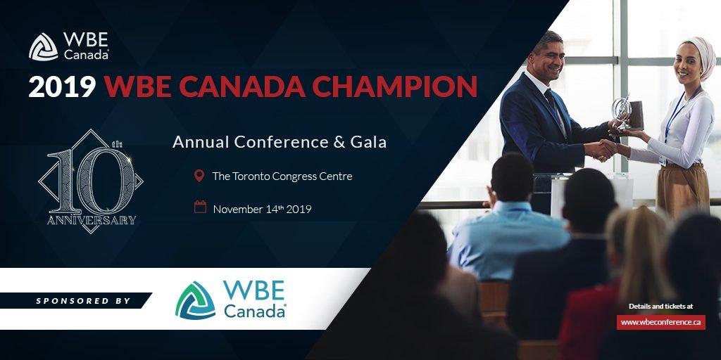 2019 WBE Canada Champion
