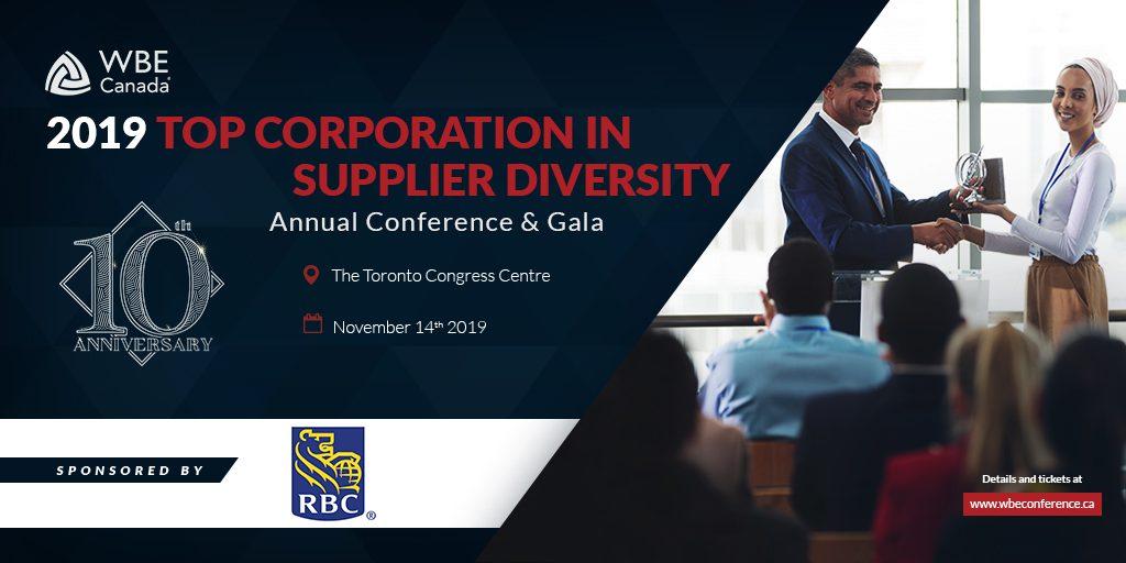 RBC - 2019 Top Corporation Award