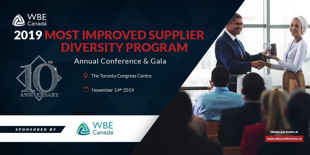 2019 Most Improved Supplier Diversity Program Award