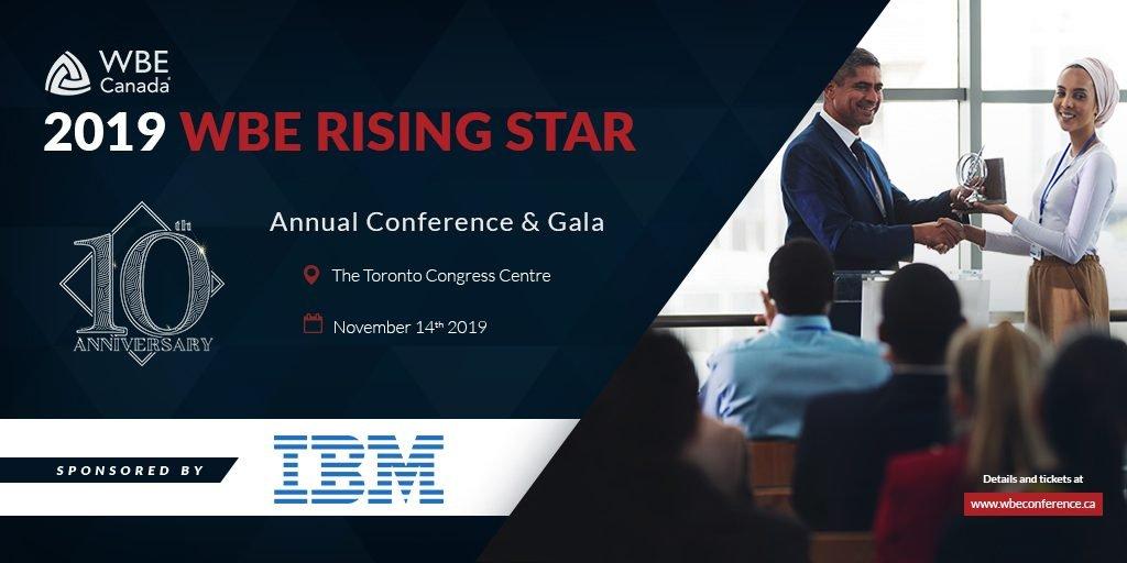 IBM - 2019 WBE Rising Star