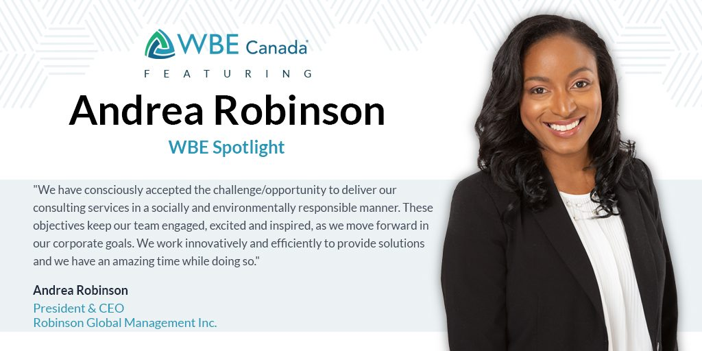 Andrea Robinson, Robinson Global Management Inc.