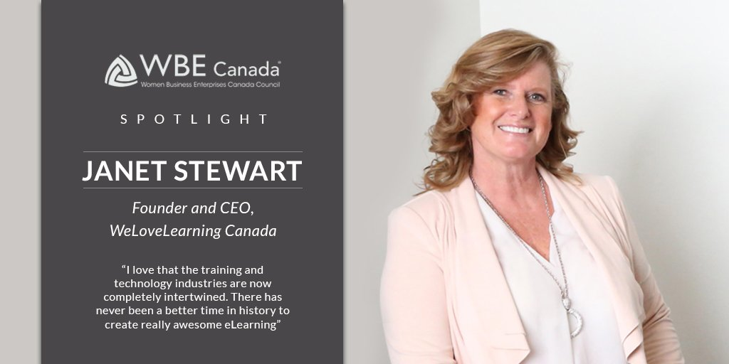 Janet Stewart, Founder and CEO, WeLoveLearning Canada
