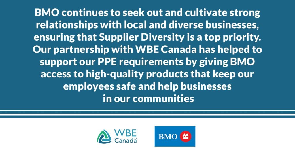 Supplier diversity at BMO during COVID-19