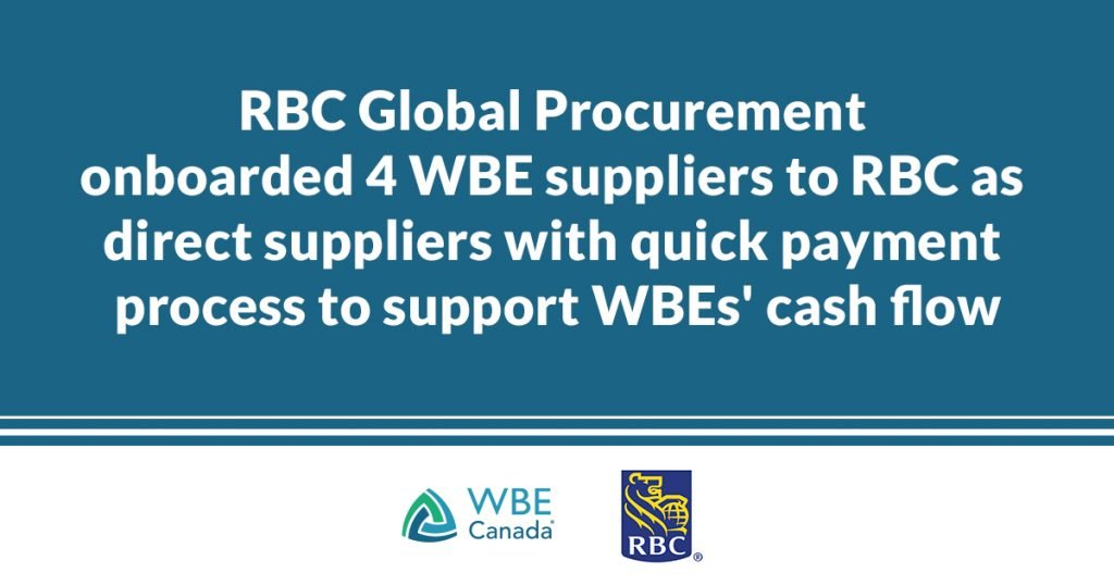 Supplier diversity during COVID-19 - RBC supply chain