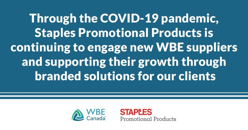 Supplier diversity during COVID-19 - Staples Promotional Products supply chain
