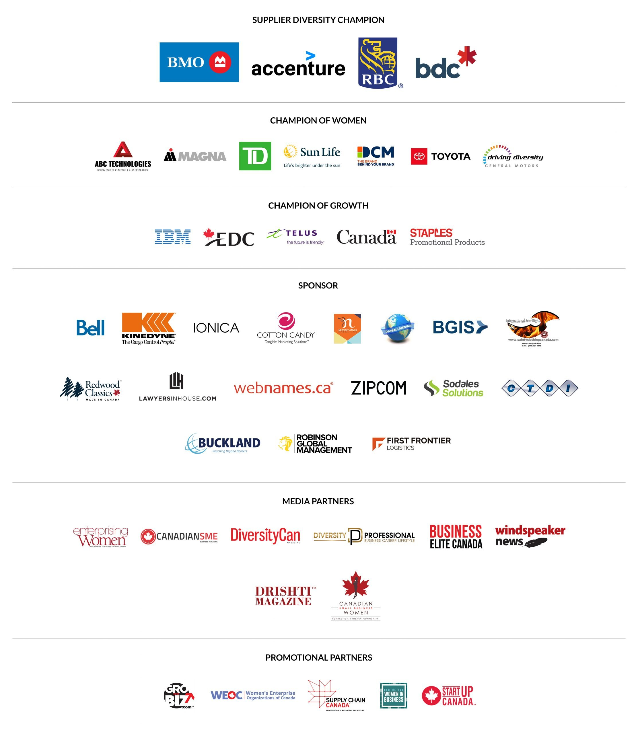2020 WBE Conference Sponsors