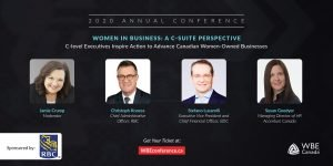 2020 WBE Conference C-Suite Panel