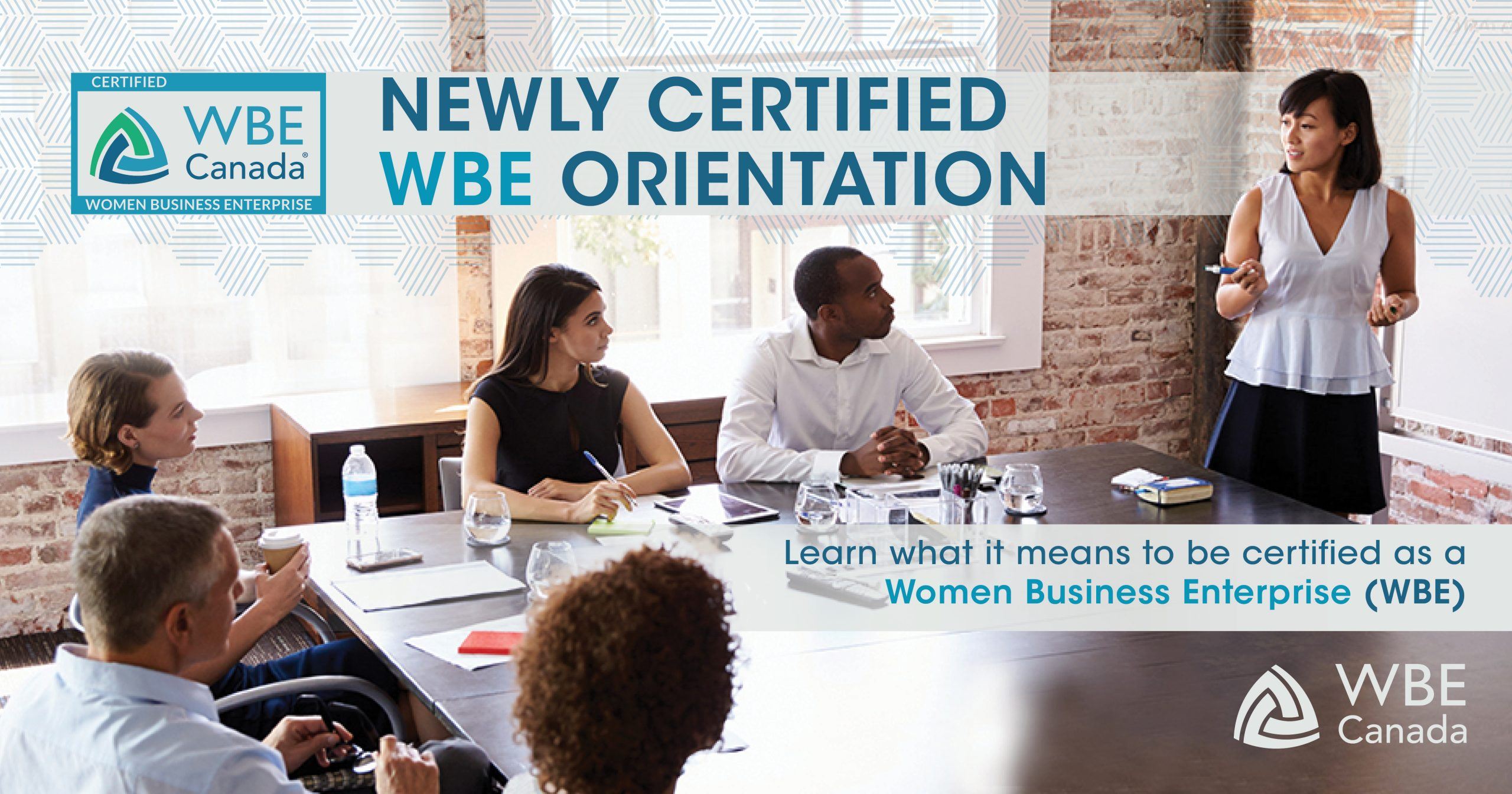 Newly Certified WBE Orientation