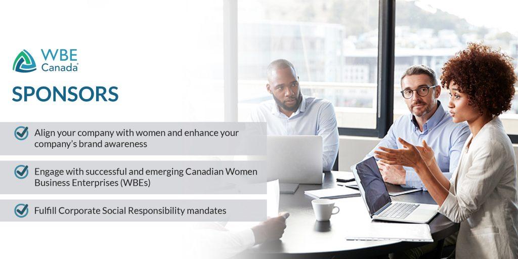 WBE Canada Sponsors