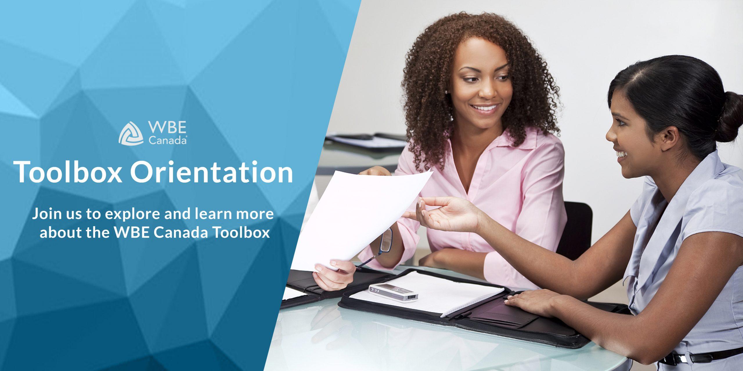 Toolbox Orientation