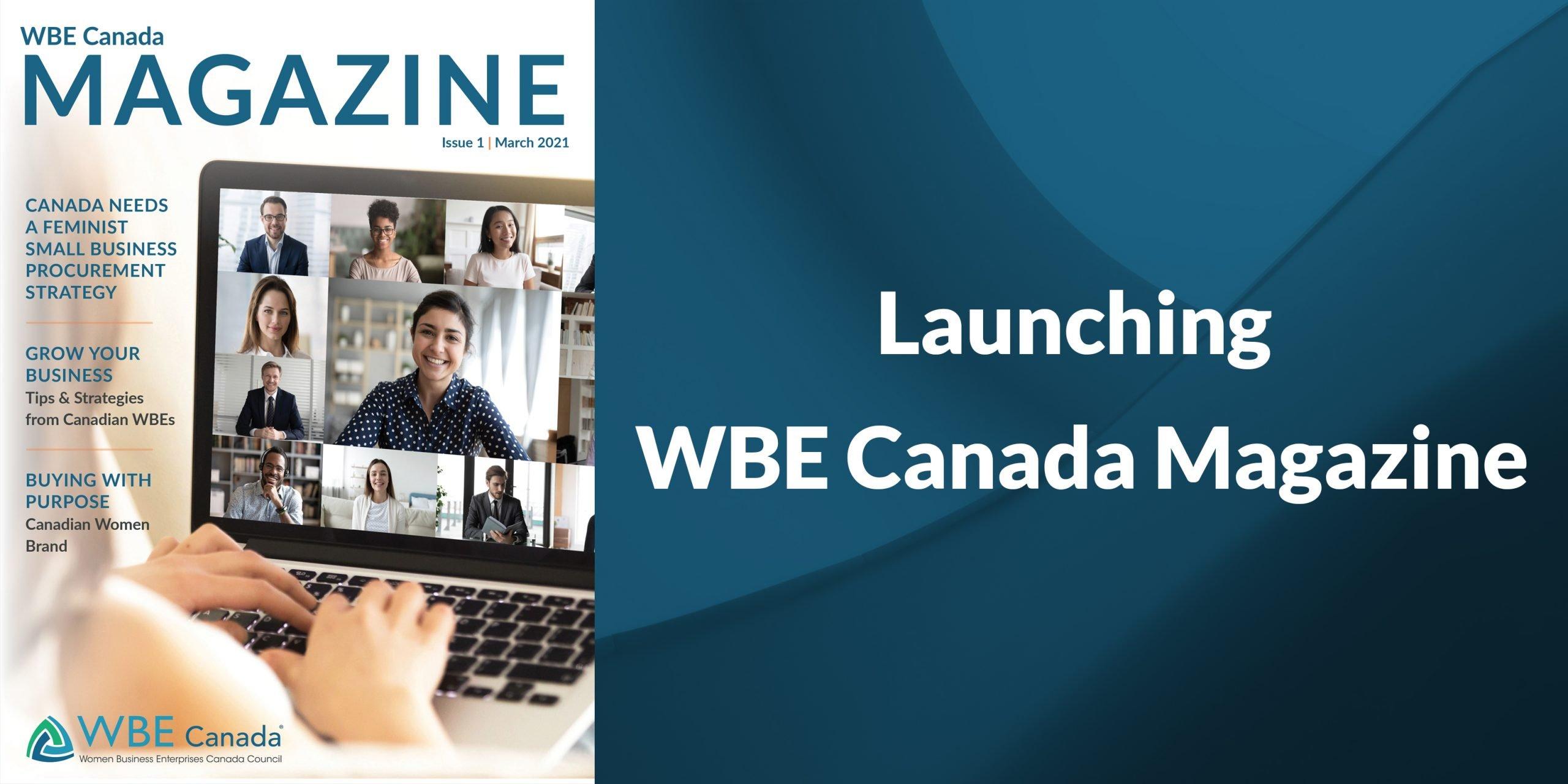 WBE Canada Magazine launch
