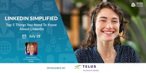 Linkedin Simplified Sponsored by Telus