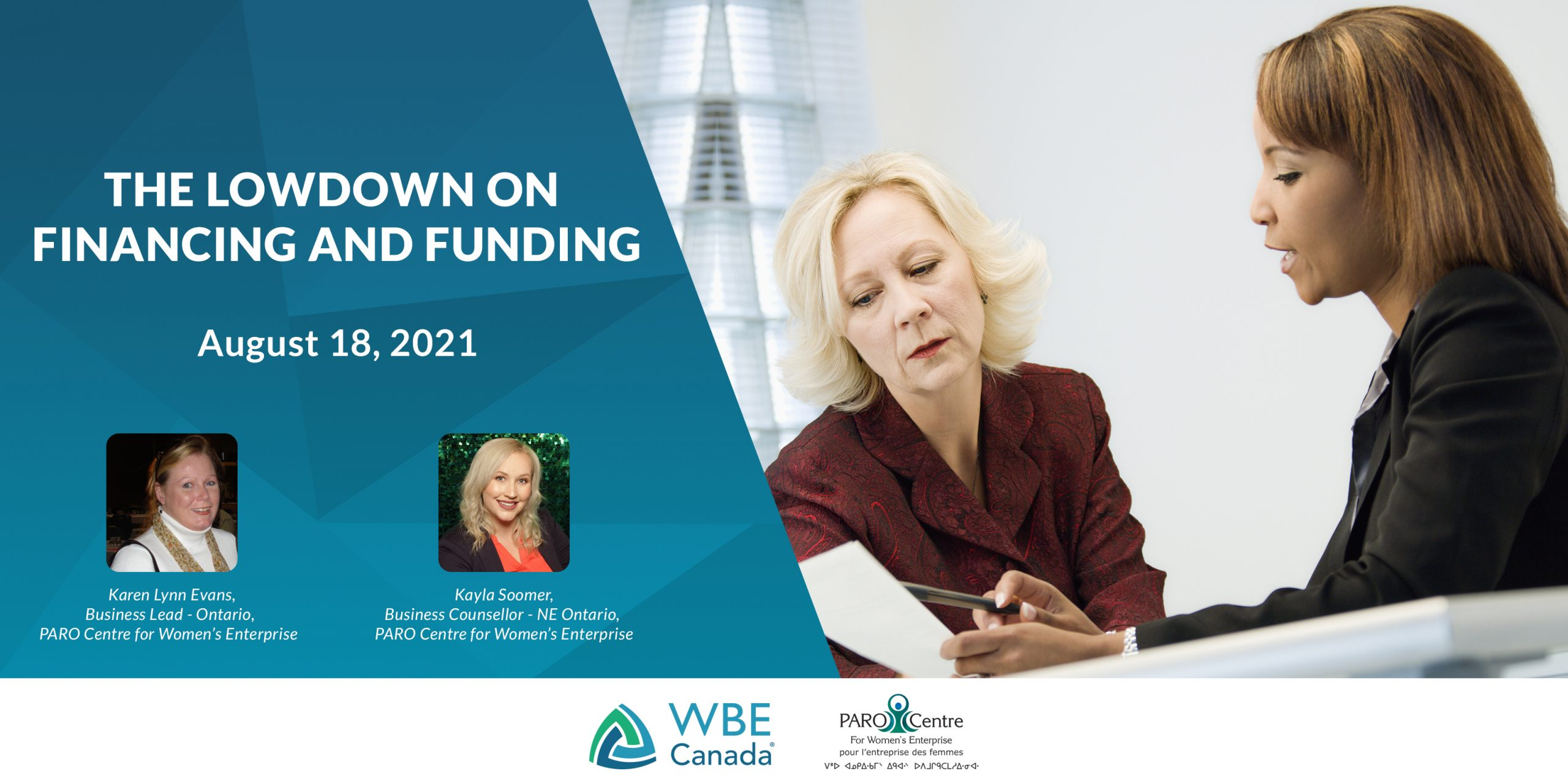 The lowdown on finance and funding