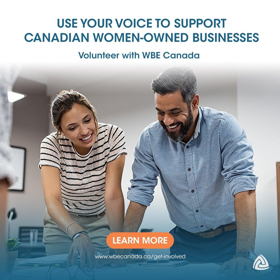 Volunteer with WBE Canada