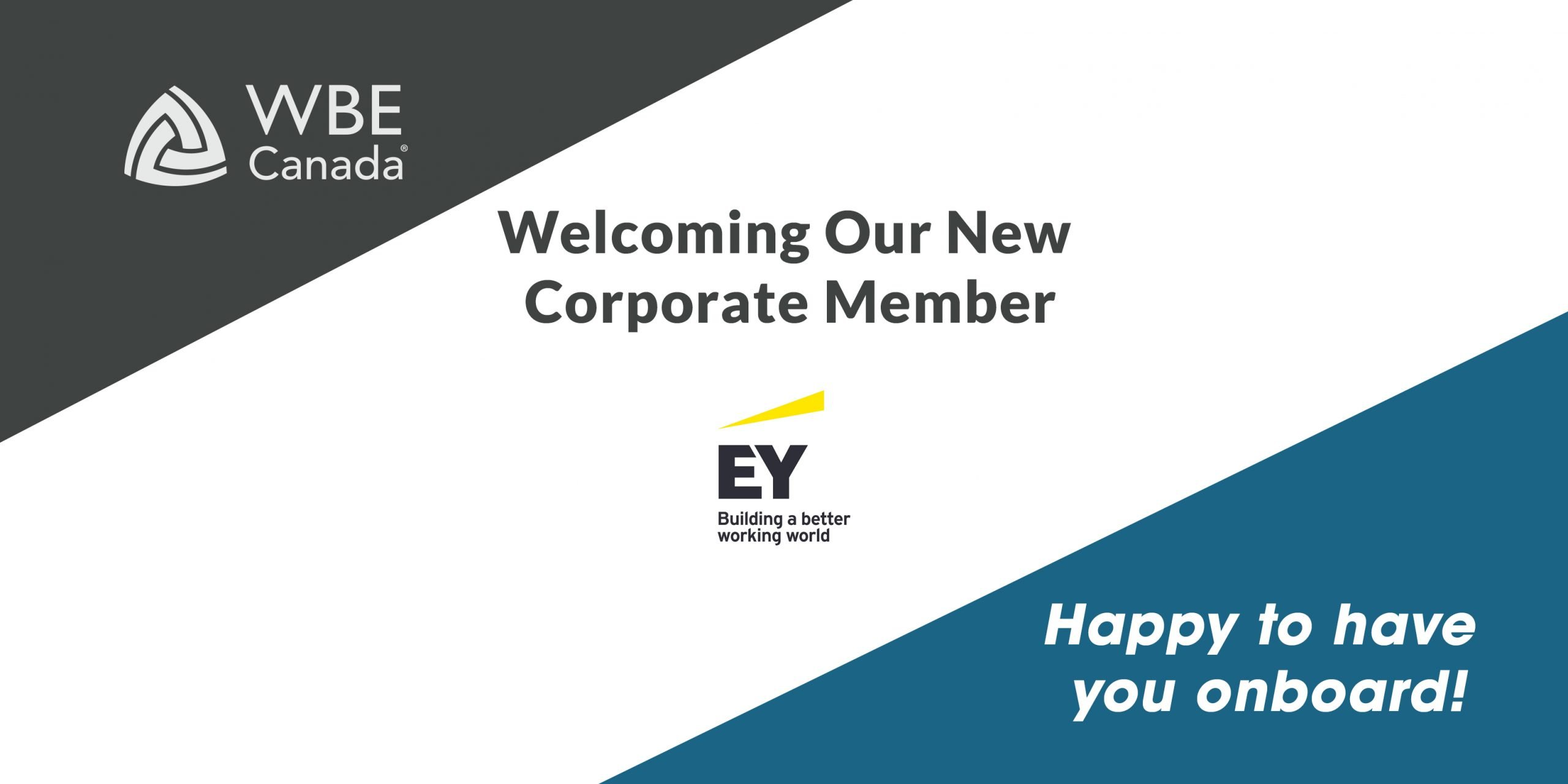 EY new corporate member