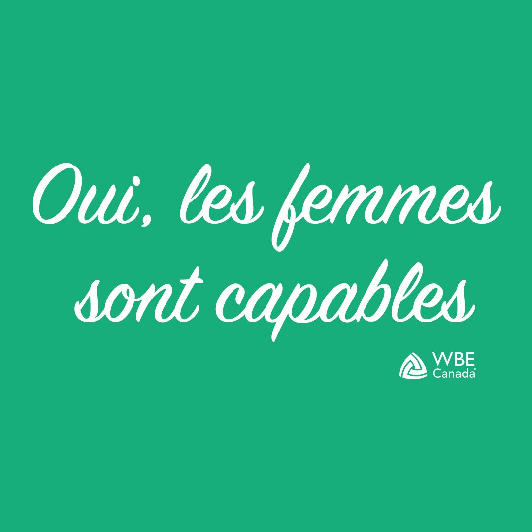 Take Action Page_Yes, Women Can_French Version