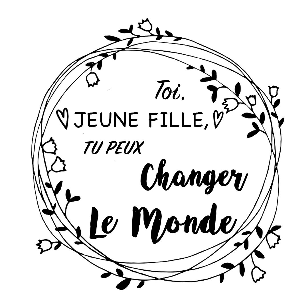 Take Action Page_You can Change the World Girl_French Version