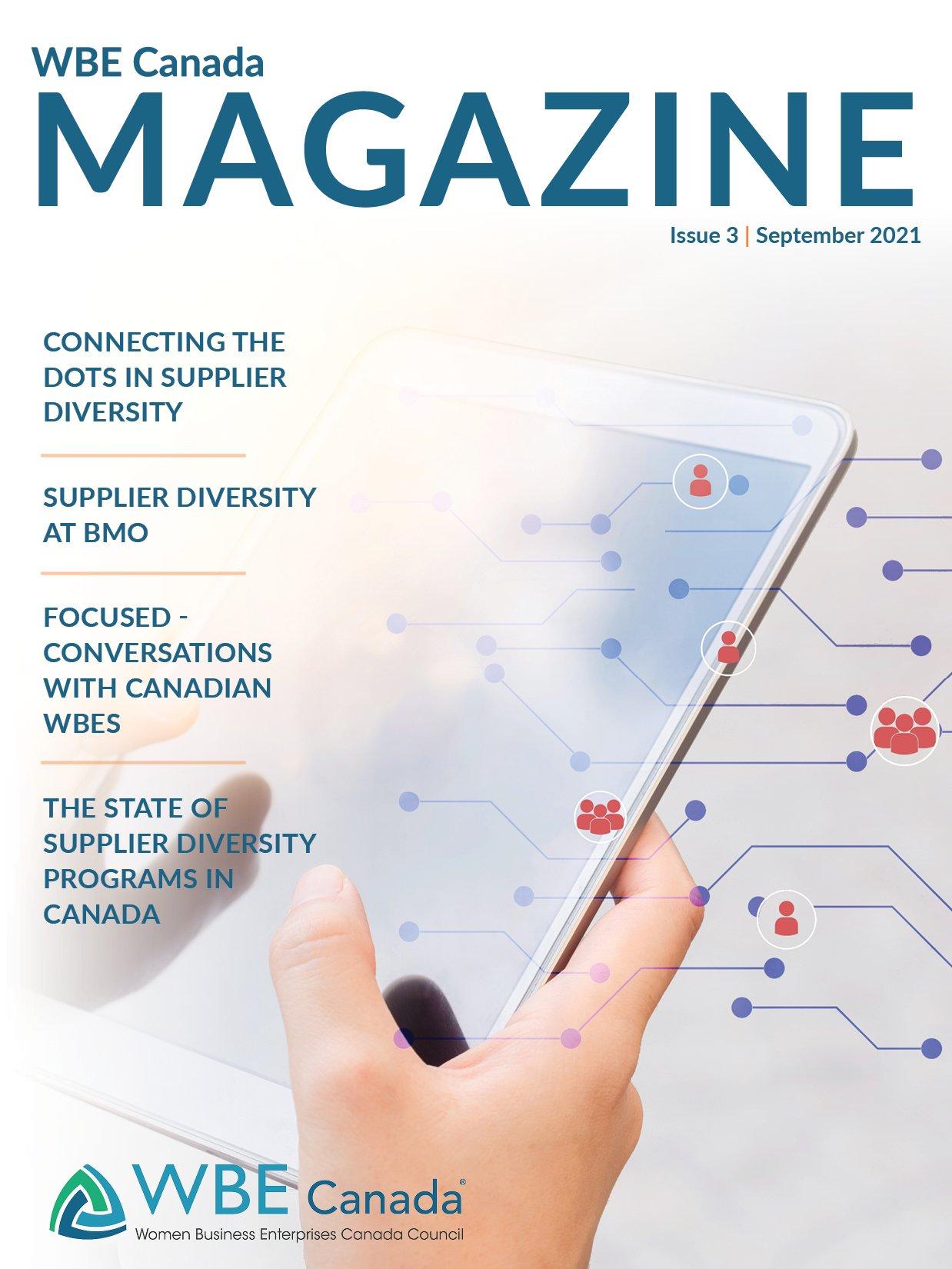 WBE Canada Magazine Issue 3_Cover